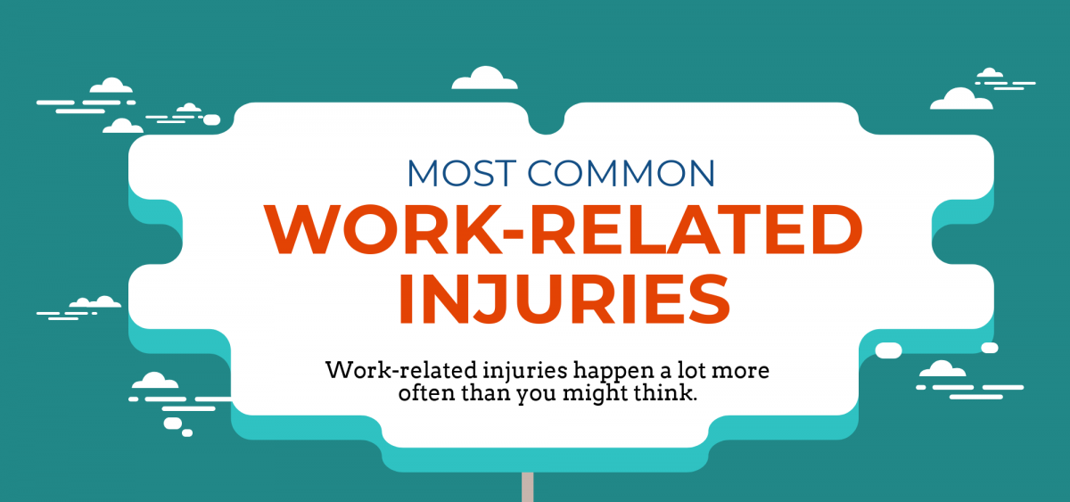 INFOGRAPHIC: The Most Common Work-Related Accidents