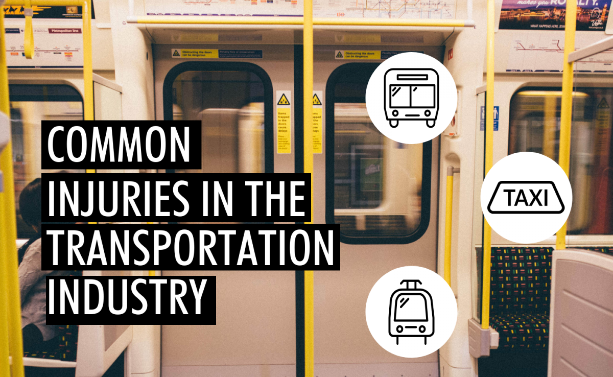 Common Injuries in the Transportation Industry